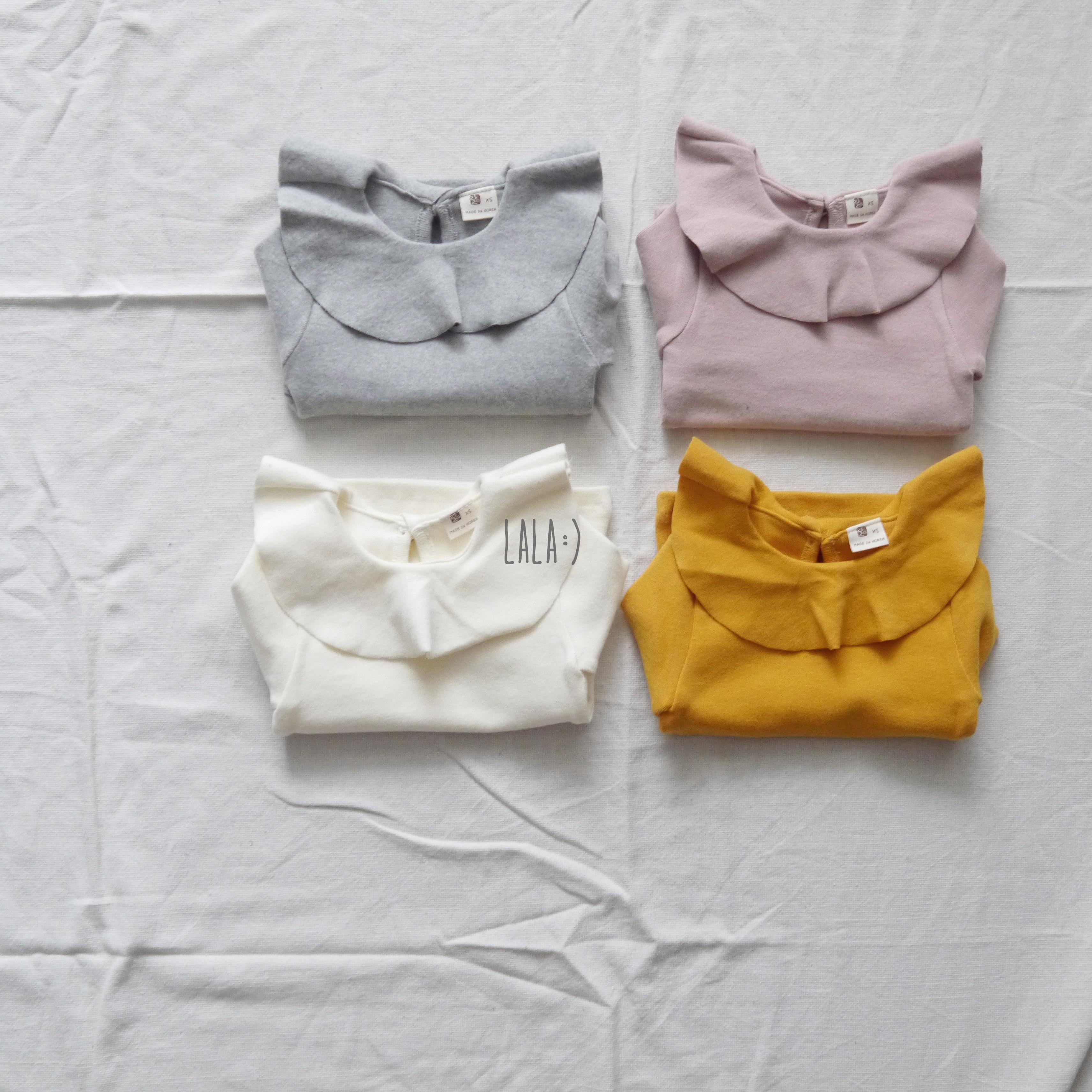 LALA - Pitch Ruffle T-shirt