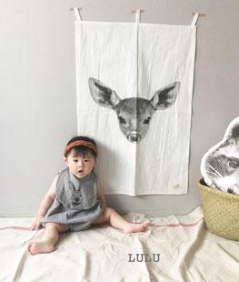 Deer Mini Curtain