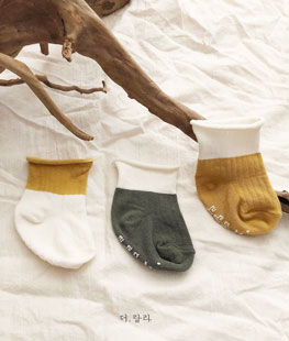 Two-tone Socks [set of 3]